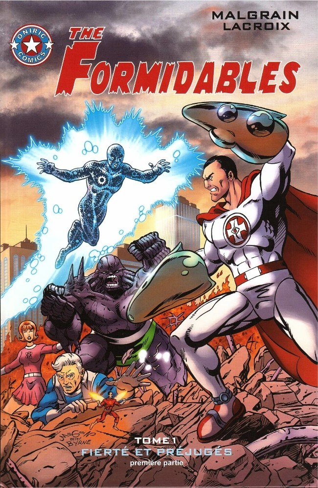 The Formidables T1 : Fierté et préjugés - 1ère partie (0), comics chez Oniric Comics de Malgrain, Lacroix