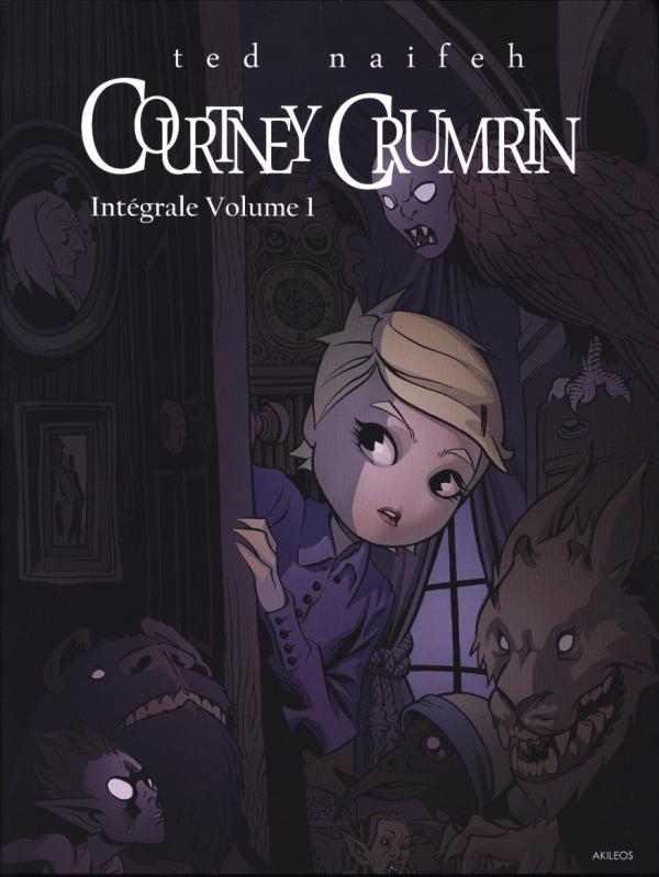 Courtney Crumrin T1, comics chez Akileos de Naifeh