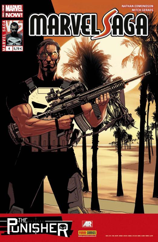 Marvel Saga – V 2, T4 : The Punisher - Memento Mori (0), comics chez Panini Comics de Edmondson, Gerads