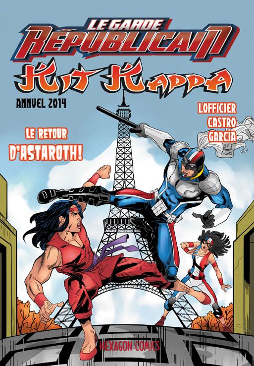 Le Garde Républicain – Hors série : Spécial Noël 2014 - Kit Kappa - Le retour d'Astaroth ! (0), comics chez Hexagon Comics de Lofficier, Garcia, Castro