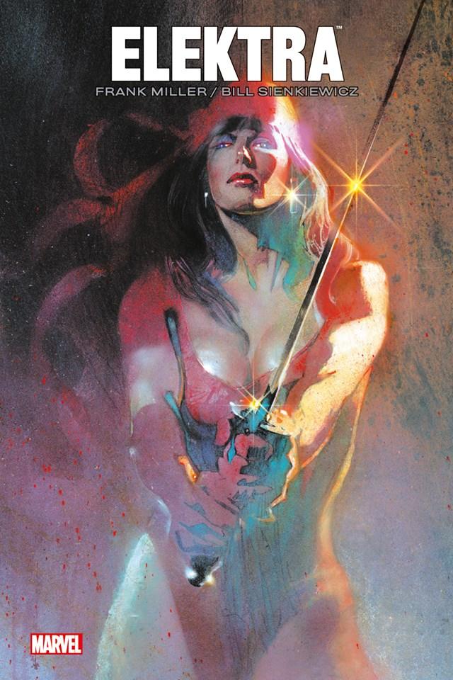 Elektra par Frank Miller, comics chez Panini Comics de Miller, Sienkiewicz, Varley, Wein