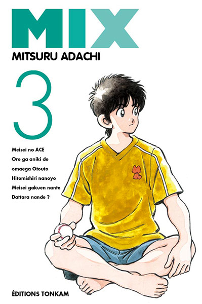 Mix  T3, manga chez Tonkam de Adachi