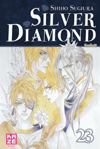 Silver diamond T23, manga chez Kazé manga de Sugiura