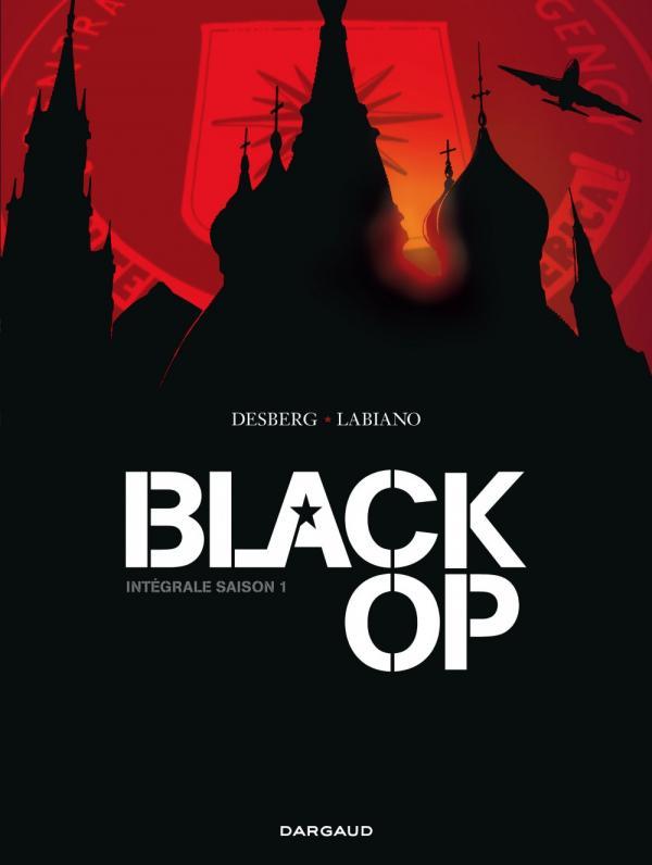 Black OP, bd chez Dargaud de Desberg, Labiano