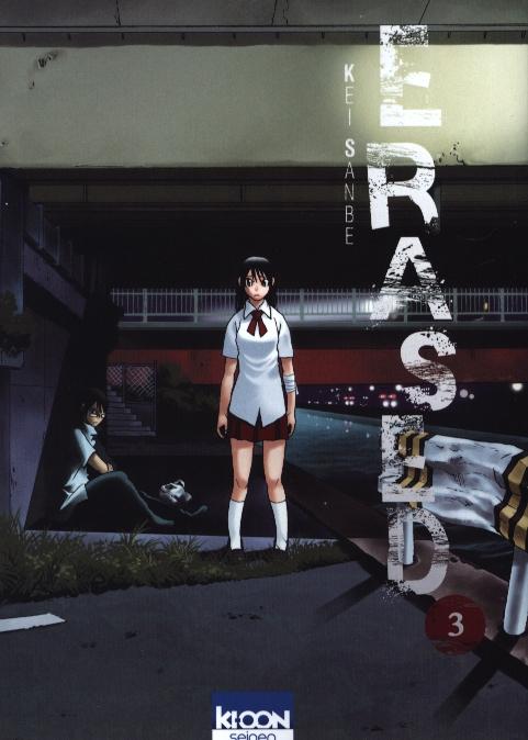 Erased T3, manga chez Ki-oon de Sanbe