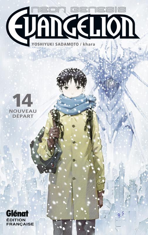 Neon-Genesis Evangelion T14 : Nouveau départ, manga chez Glénat de Gainax, Sadamoto