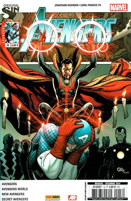 The Avengers (revue) – V 4, T18 : Avengers de l'Infini (0), comics chez Panini Comics de Hickman, Spencer, Kot, Checchetto, Caselli, Morales, Yu, Ross, Alanguilan, Wilson, Gho, Mossa, Cho