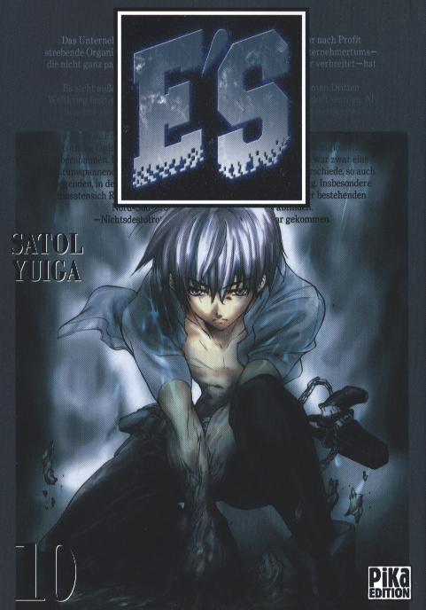 E'S T10, manga chez Pika de Satol