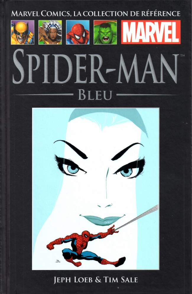 Marvel Comics, la collection de référence T28 : Spider-Man - Bleu (0), comics chez Hachette de Loeb, Sale, Buccellato