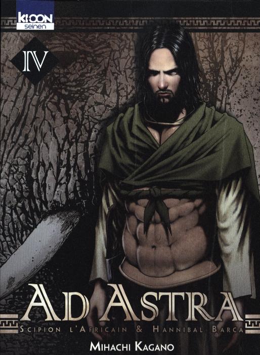 Ad Astra - Scipion l'africain & Hannibal Barca T4, manga chez Ki-oon de Kagano