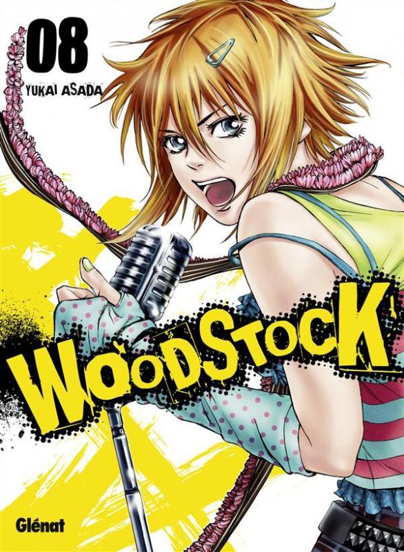 Woodstock T8, manga chez Glénat de Asada