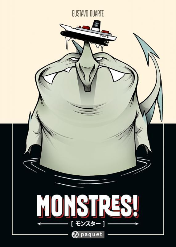 Monstres !, bd chez Paquet de Duarte