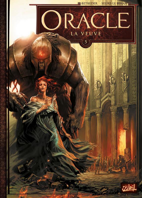 Oracle – cycle 1, T5 : La Veuve (0), bd chez Soleil de Betbeder, Seurre-le bihan, Jacquemoire
