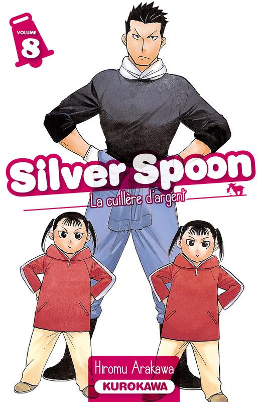 Silver spoon T8, manga chez Kurokawa de Arakawa