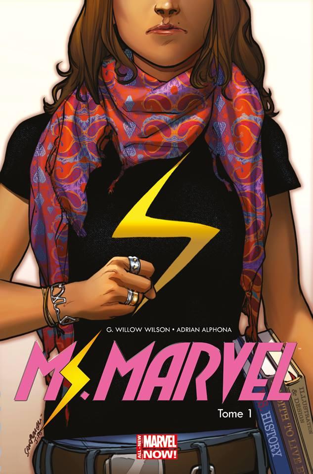 Miss Marvel T1 : Métamorphose (0), comics chez Panini Comics de Wilson, Alphona, Herring, Pichelli