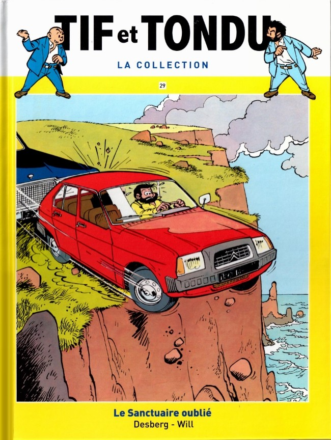 Tif et Tondu T29 : Le Sanctuaire oublié  (0), bd chez Hachette de Desberg, Will, Léonardo