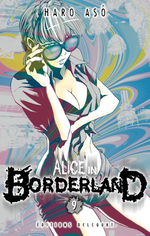 Alice in borderland T9, manga chez Delcourt de Haro