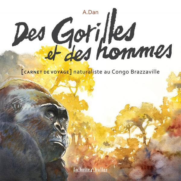 Des gorilles et des hommes, bd chez La boîte à bulles de A.Dan