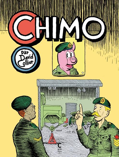 Chimo, comics chez Cambourakis de Collier