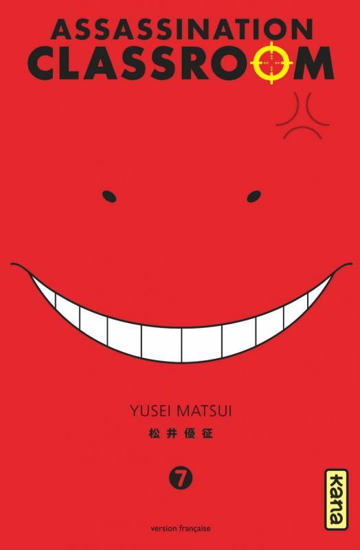 Assassination classroom T7, manga chez Kana de Yusei