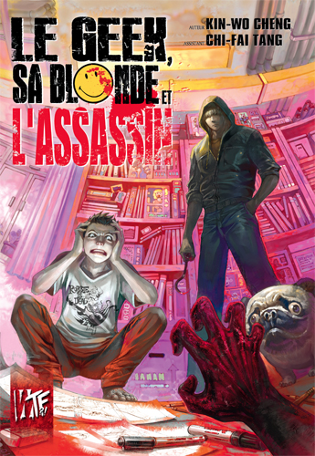 Le Geek, sa Blonde et l'Assassin, manga chez Akata de Cheng, Tang