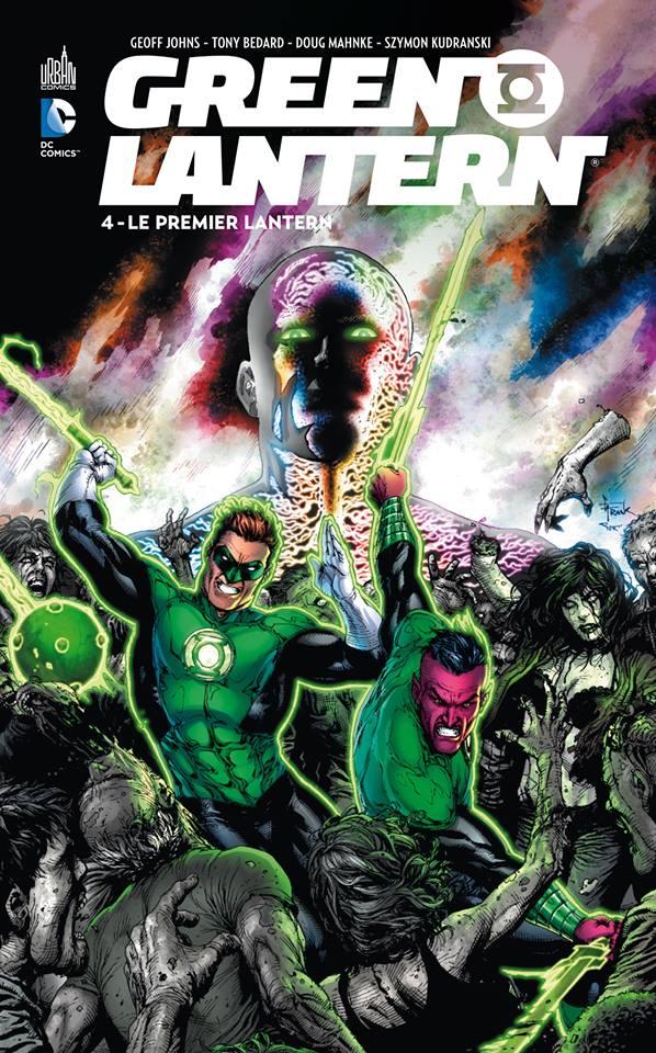 Green Lantern T4 : Le premier Lantern (0), comics chez Urban Comics de Johns, Bedard, Gleason, Jimenez, Van sciver, Reis, Hamner, Guinaldo, Jurgens, Mahnke, Ordway, Kudranski, Syaf, Kuder, Aviña, Quintana, Sinclair, Frank