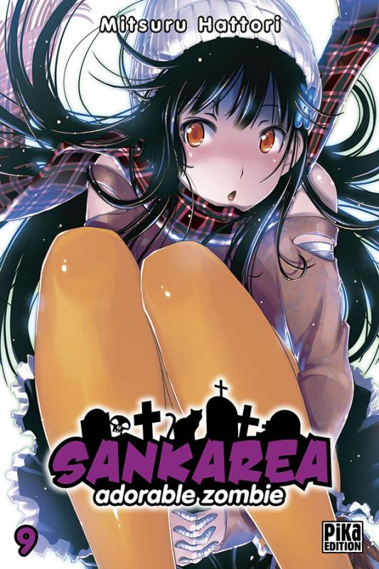 Sankarea - adorable zombie T9, manga chez Pika de Hattori