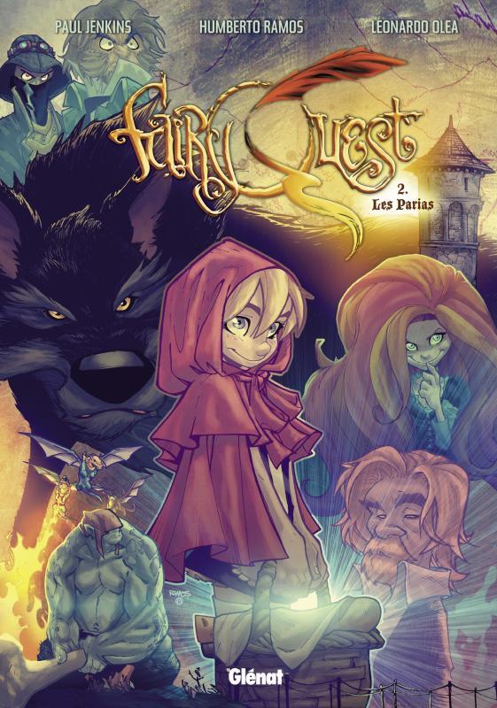 Fairy Quest T2 : Les parias (0), comics chez Glénat de Jenkins, Ramos, Olea