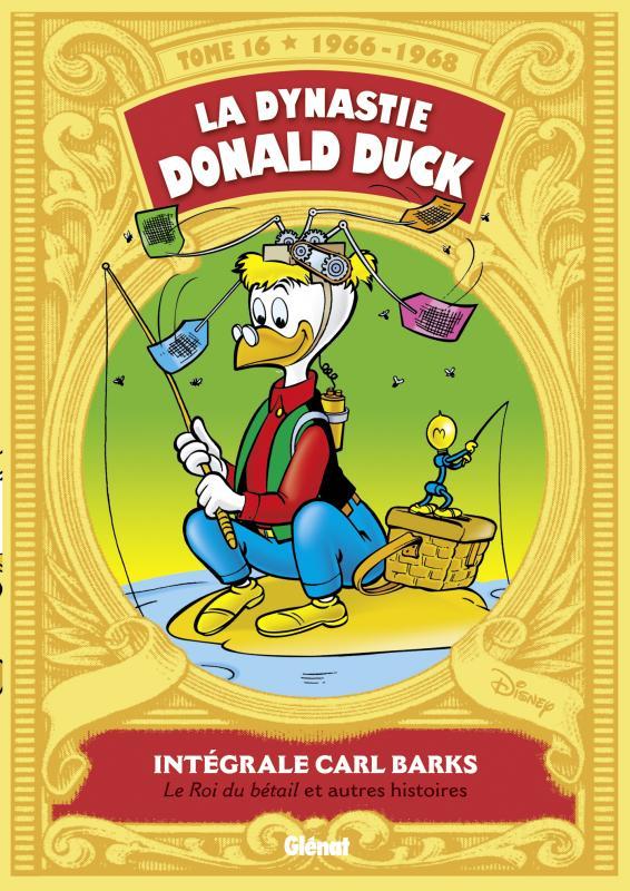 La Dynastie Donald Duck T16 : Picsou roi du Far West et autres histoires (0), comics chez Glénat de Barks