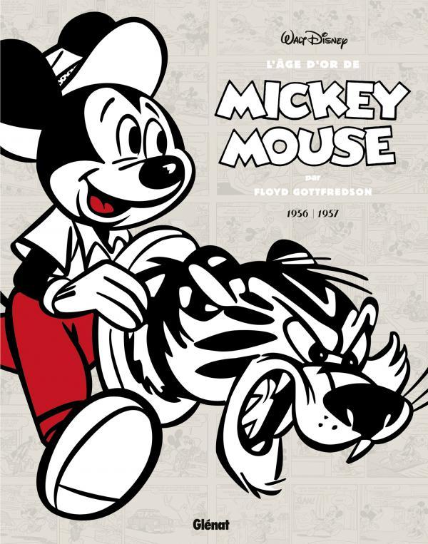 L'Age d'or de Mickey Mouse T12 : 1956 / 1957 - Histoires courtes (0), comics chez Glénat de Gottfredson