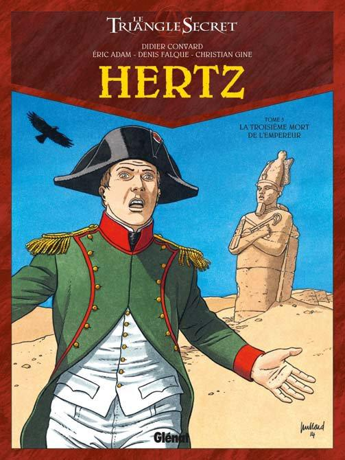 Hertz – cycle 2, T5 : La troisième mort de l'Empereur (0), bd chez Glénat de Adam, Convard, Falque, Gine, Lecot, Juillard