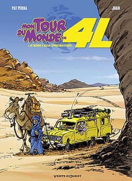 Mon tour du monde en 4L T1 : De Meudon à Dakar, approximativement... (0), bd chez Vents d'Ouest de Perna, Juan, Leprince