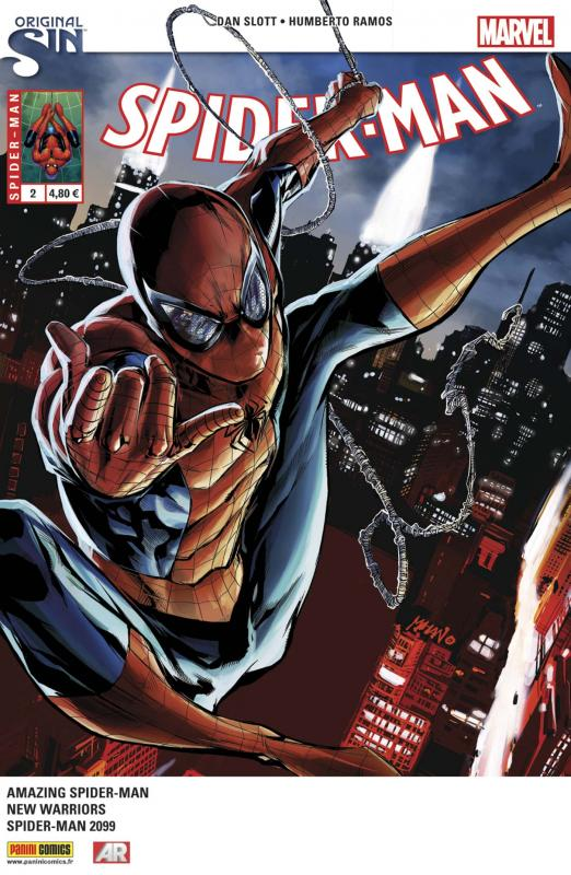 Spider-Man (revue) – V 5, T2 : Esprit de vengeance (0), comics chez Panini Comics de David, Yost, Slott, Ramos, Sliney, Olazaba, To, Fabela, Delgado, Curiel, Pop