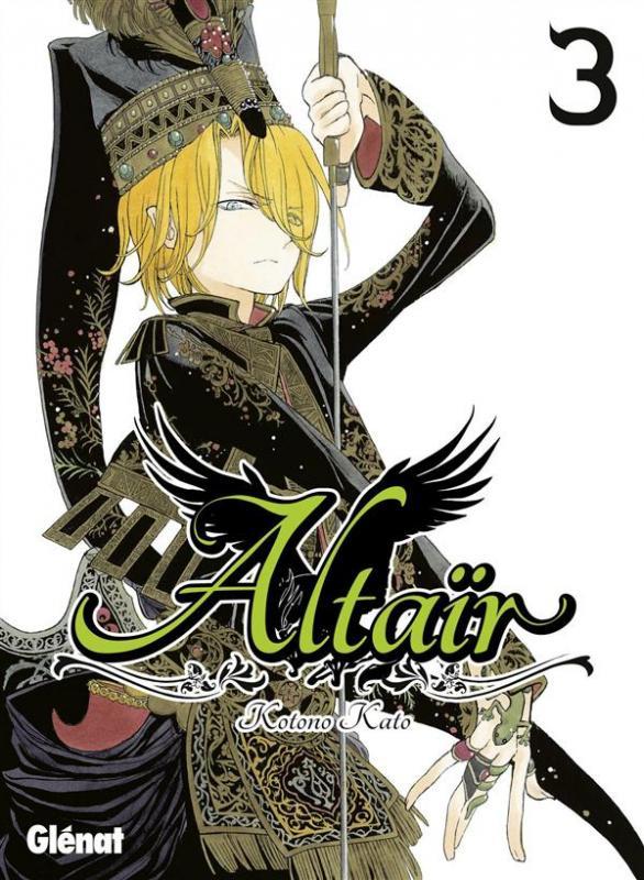 Altaïr T3, manga chez Glénat de Katô