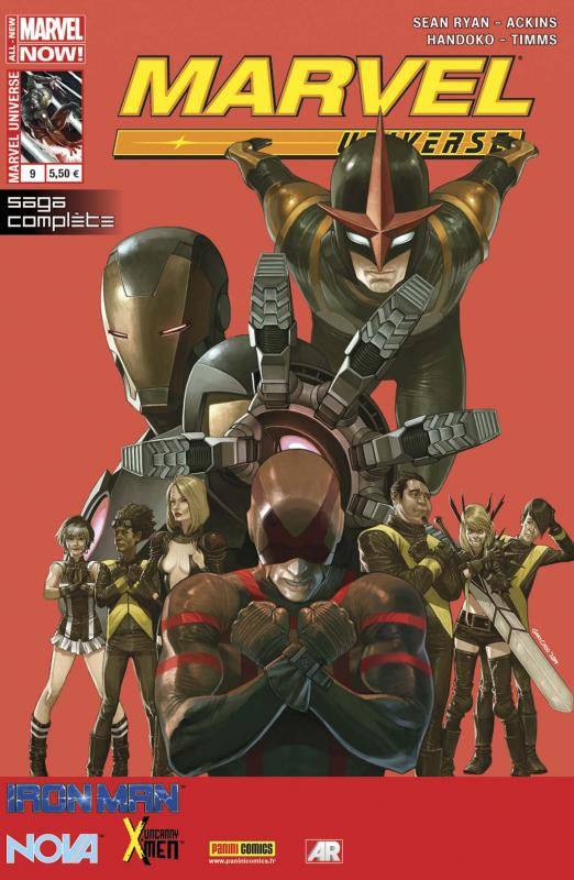 Marvel Universe – V 3, T9 : L'éternelle chute (0), comics chez Panini Comics de Ryan, Handoko, Ackins, Timms, Redmond, Choo