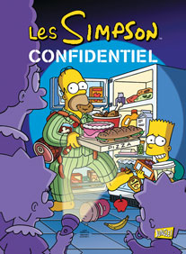 Les Simpson T26 : Confidentiel (0), comics chez Jungle de Templeton, Dixon, Costanza, Villanueva