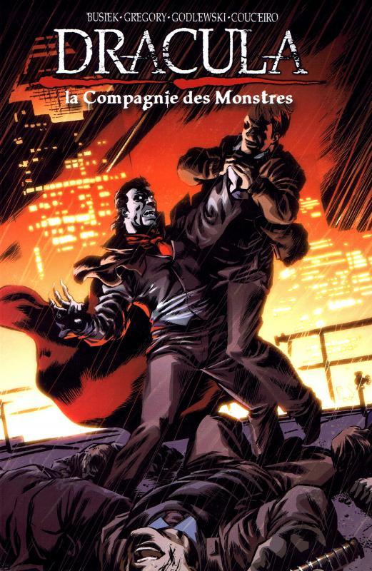 Dracula : la compagnie des monstres T2, comics chez French Eyes de Busiek, Gregory, Couceiro, Godlewski, Van Buren, Downer, Salas