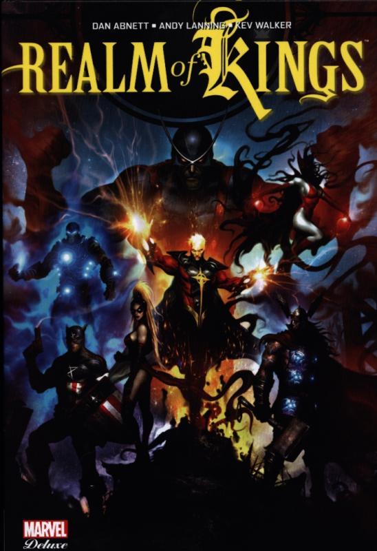Realm of Kings, comics chez Panini Comics de Lanning, Abnett, Seeley, Olazaba, Manco, Asrar, Raimondi, Walker, Alves, Lucas, Hang, Fairbairn, Sejic