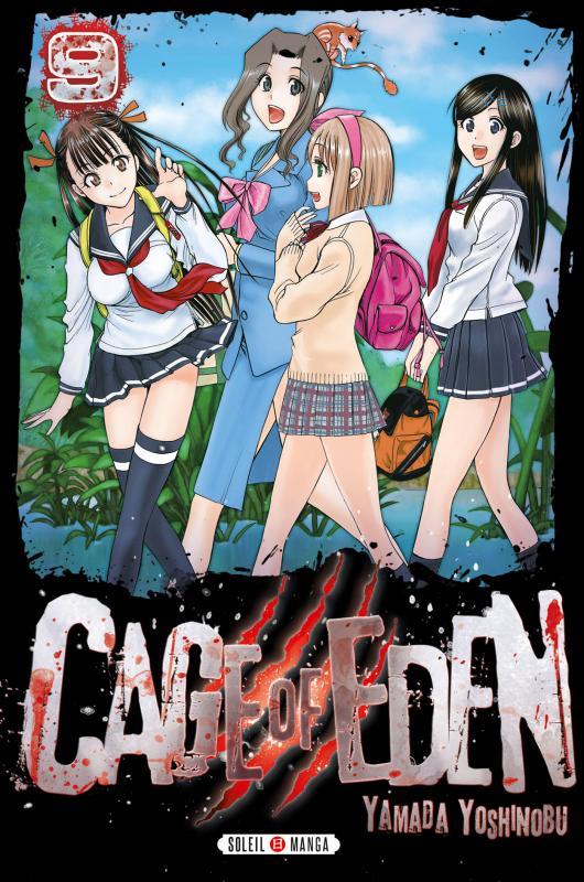 Cage of eden T9, manga chez Soleil de Yamada