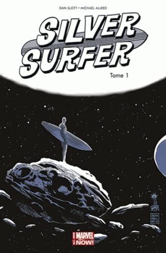 Silver Surfer (vol.7) T1 : Une aube nouvelle (0), comics chez Panini Comics de Slott, Allred, Allred, Francavilla