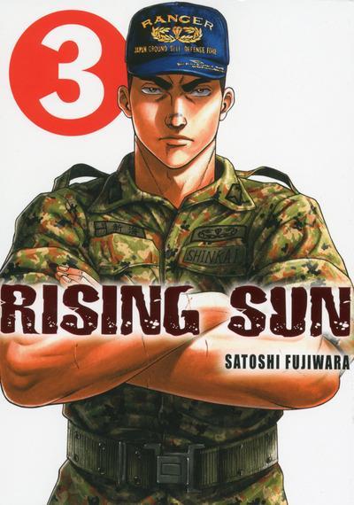 Rising sun T3, manga chez Komikku éditions de Fujiwara