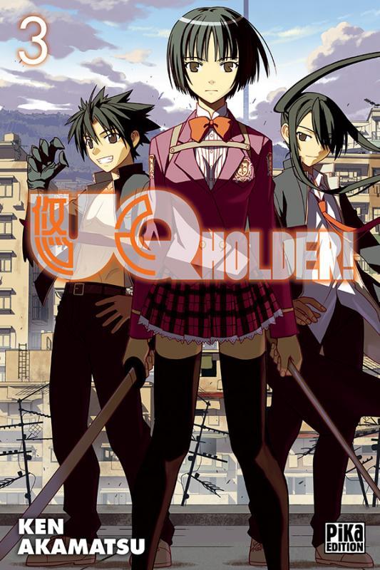 UQ Holder! T3, manga chez Pika de Akamatsu