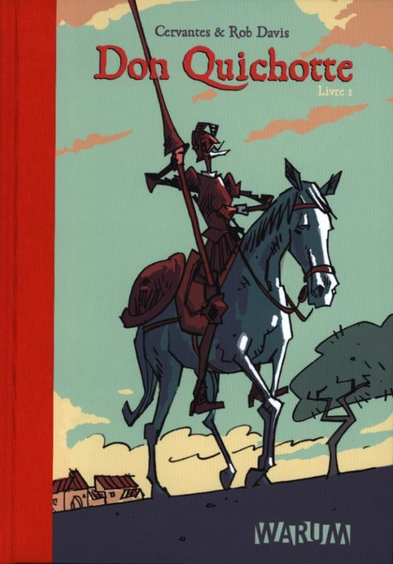 Don Quichotte T1, comics chez Warum de Davis
