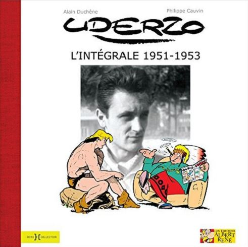 Uderzo T2 : 1951-1953 (0), bd chez Hors Collection de Duchêne, Cauvin, Uderzo