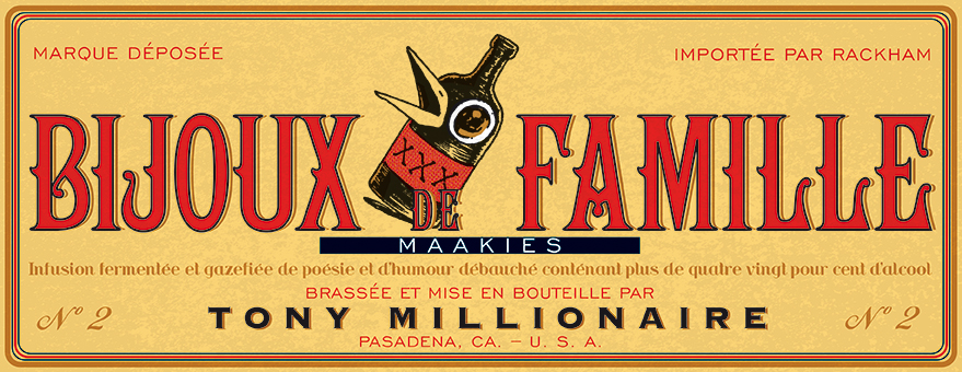 Maakies T2 : Bijoux de famille (0), comics chez Rackham de Tony Millionaire