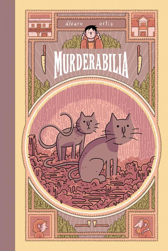 Murderabilia, bd chez Rackham de Ortiz