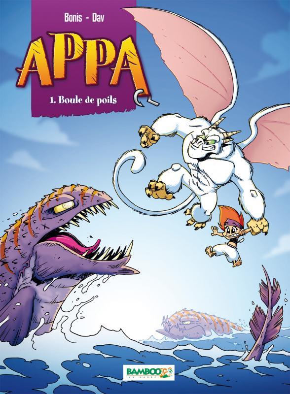 Appa (format franco-belge) T1 : Boule de poils (0), bd chez Bamboo de Bonis, Dav