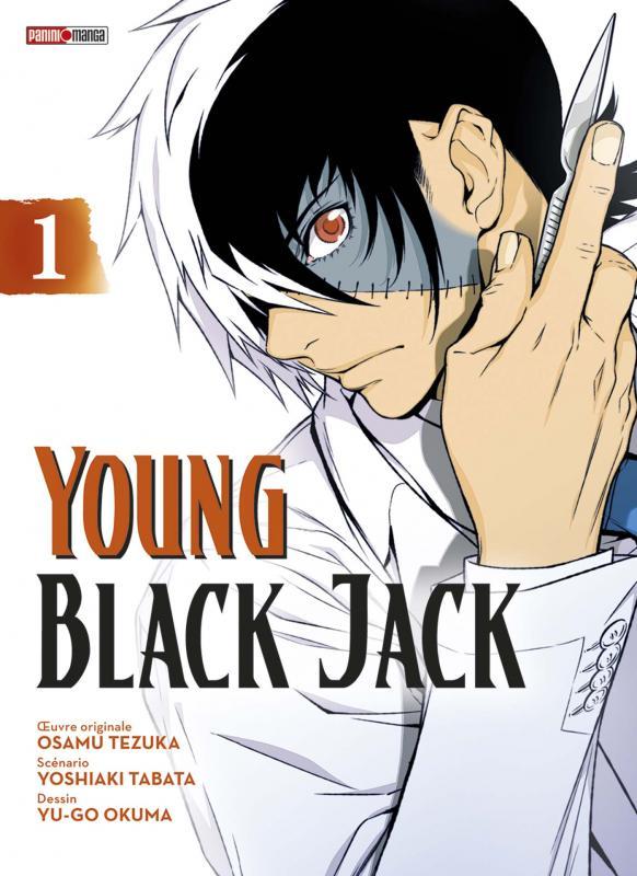 Young Black Jack T1, manga chez Panini Comics de Tezuka, Tabata, Okuma