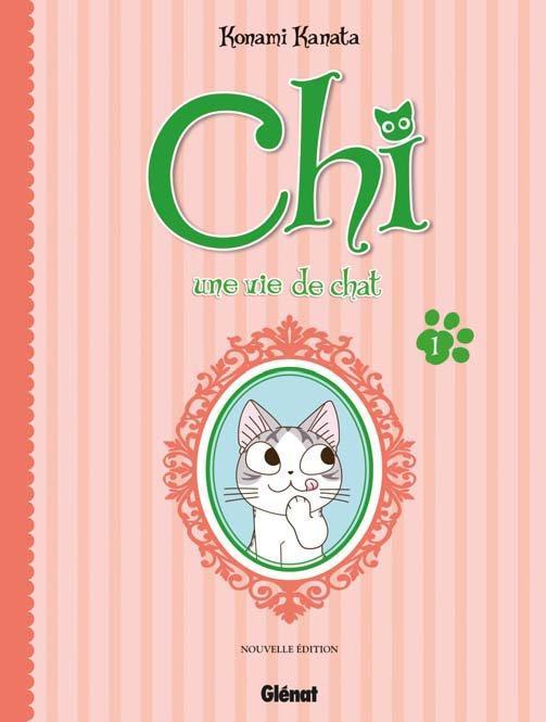 Chi - une vie de chat (format BD) T1, bd chez Glénat de Konami