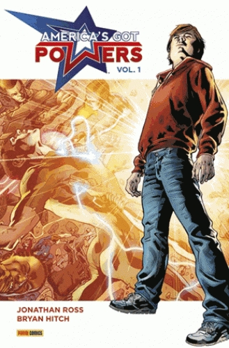 America's got Powers T1, comics chez Panini Comics de Ross, Hitch, Mounts
